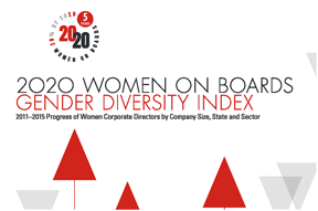 2020 Women on Baords Gender Diversity Index